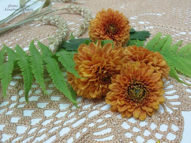 Двигала фокус цветы и рисунок салфетки