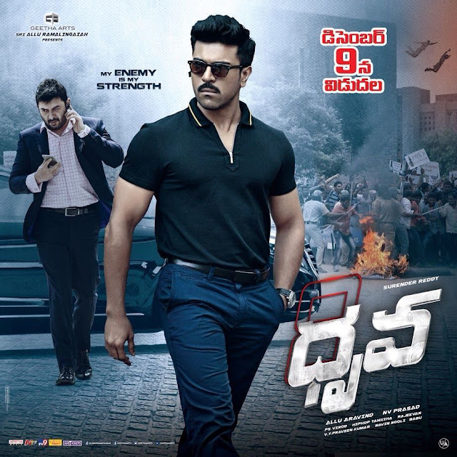 Dhruva Telugu Movie Posters