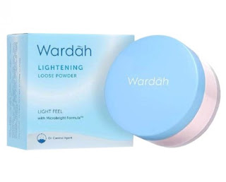 Bedak tabur wardah lightening loose powder