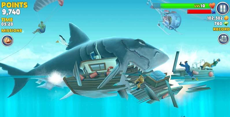 تحميل لعبة hungry shark evolution للكمبيوتر