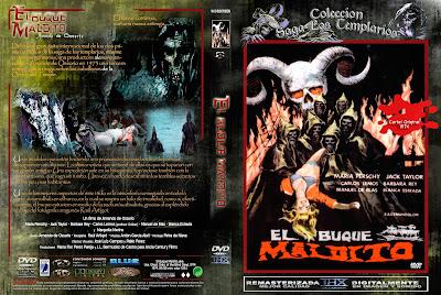 Carátula dvd: El buque maldito (1974)