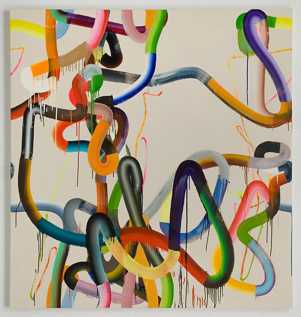 Jeff Perrott painting