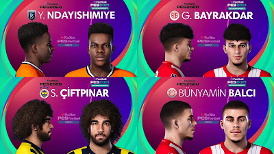 PES 2021 Turkey Süper Lig Facepack 10 by PES Football Turkey