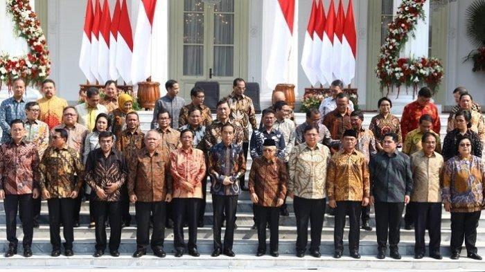 Nama-Nama Menteri Kabinet Indonesia Maju 2019-2024
