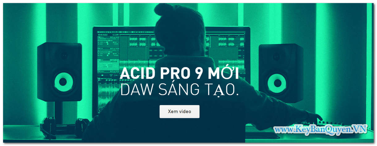 Download và cài đặt MAGIX ACID Pro 9.0.3.26 (x86-x64) Full Key, Phần mềm sáng tạo nhạc chuyên nghiệp.