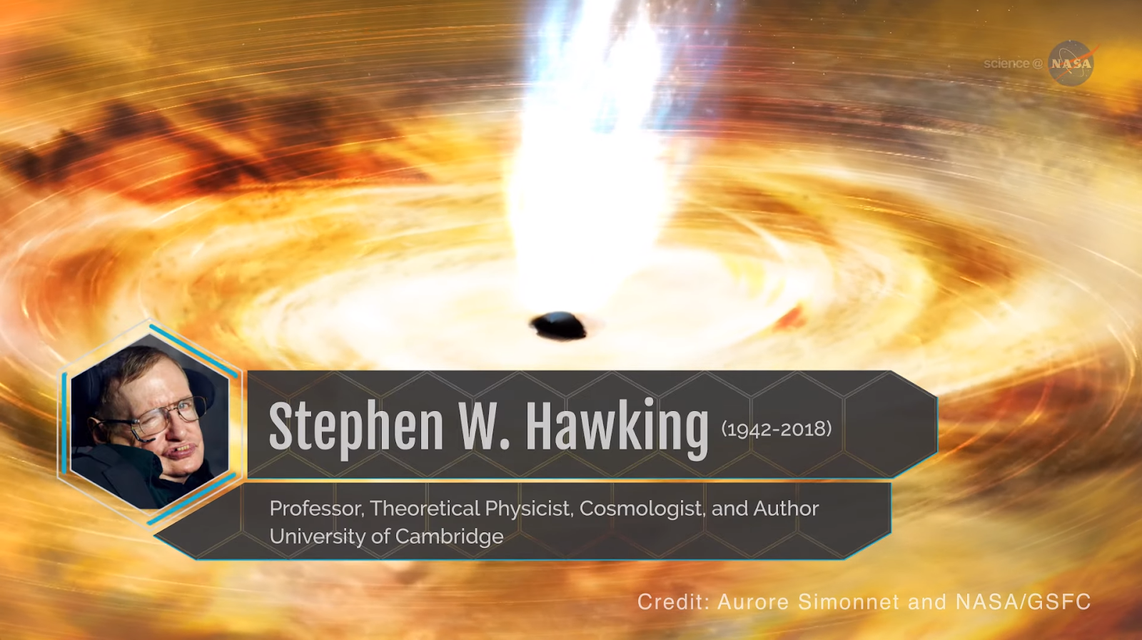 Stephen Hawking's contributions black holes