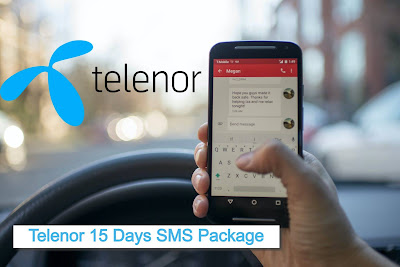 Telenor 15 Days Economy SMS Package Price Details