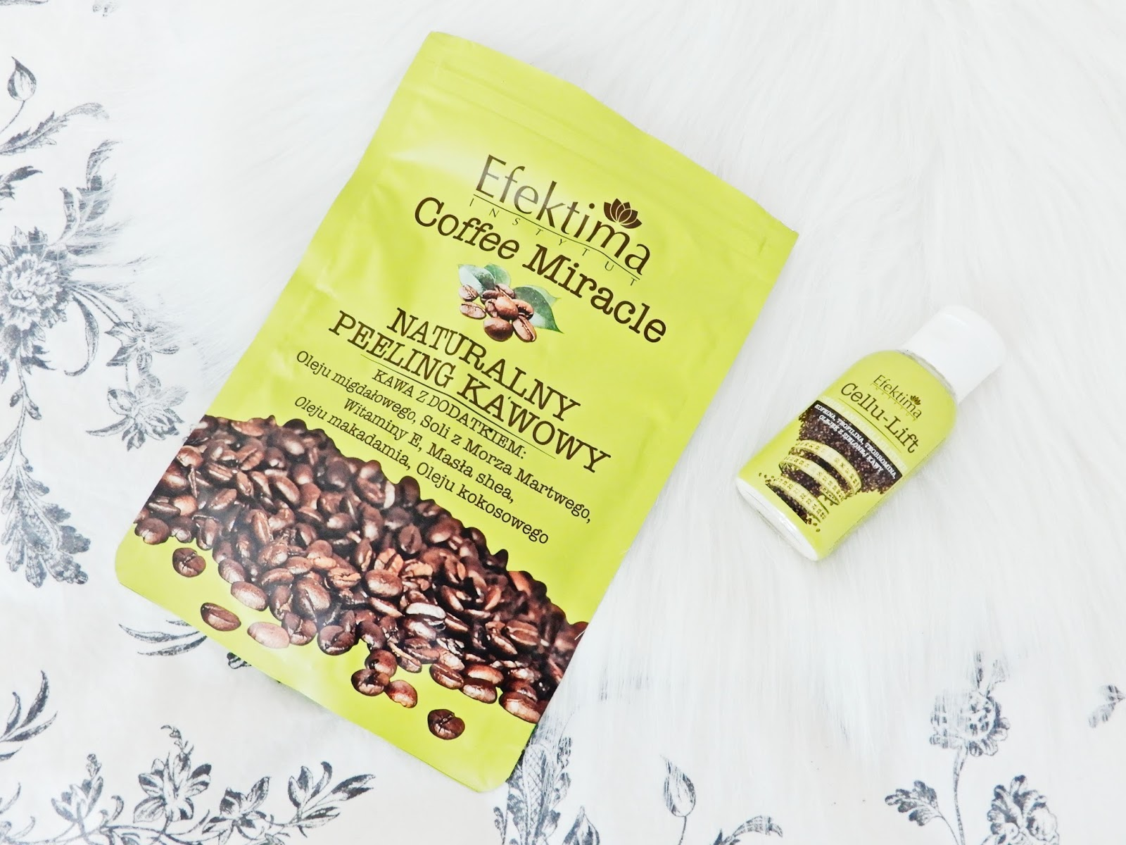 Naturalny peeling kawowy Efektima, peeling kawowy,