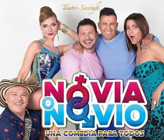NOVIO O NOVIA en Teatro Santa Fe Bogotá