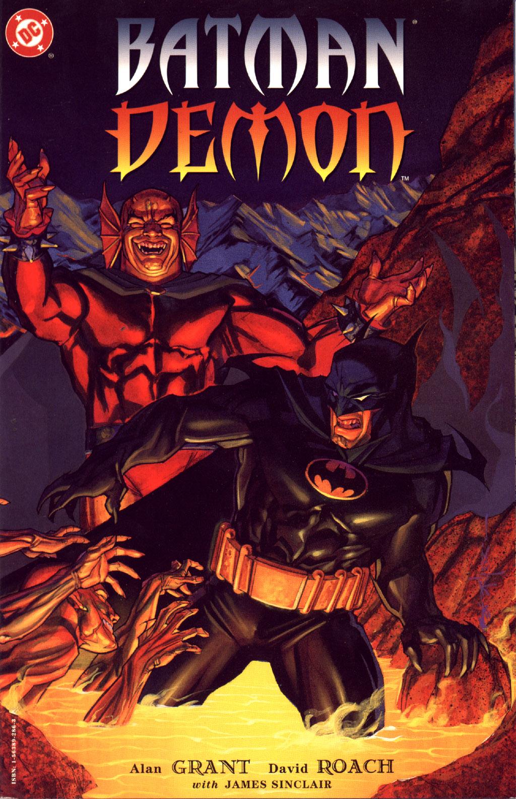 Elseworld's Finest: BATMAN / DEMON