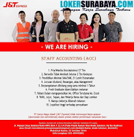 We Are Hiring at PT. Karya Niaga Abadi (J&T Express) Surabaya Oktober 2019