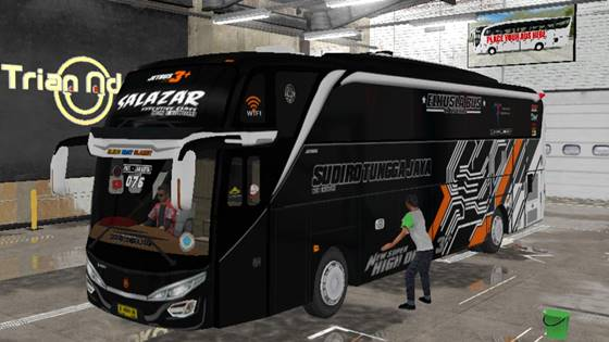 Livery Bussid STJ Salazar SHD Original