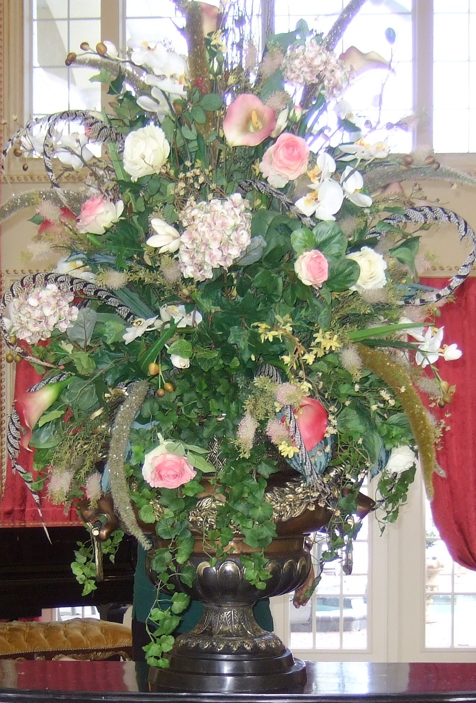 Ana silk flowers images beautiful and luxury huge silk pink silk flowers arrangements mightylinksfo