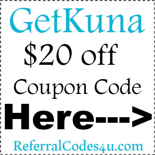 Kuna Promo Codes, Coupons & Discount Codes 2018-2019 Jan, Feb, March, April, May, June, July, Aug, Sep, Oct, Nov, Dec