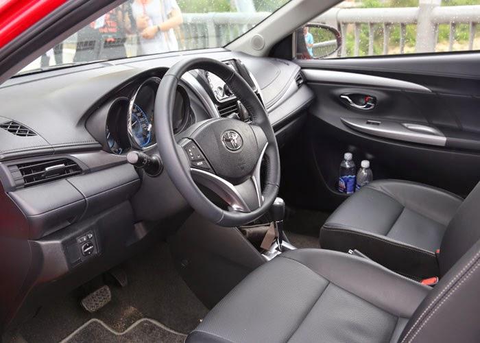 Toyota Vios 2014 giá bao nhiêu (Nội thất xe)
