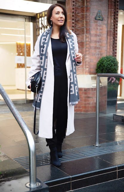 Chic winter outfit mature woman