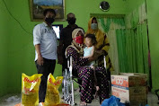 Disabilitas Sejak Lahir, Maghfira asal Hamparan Perak dapat Bantuan Dari Kabaharkam Polri