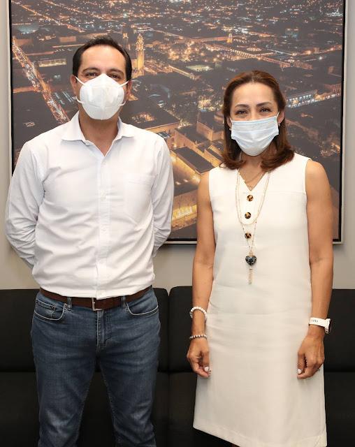 Josefina Vázquez Mota respalda campaña de Renán Barrera