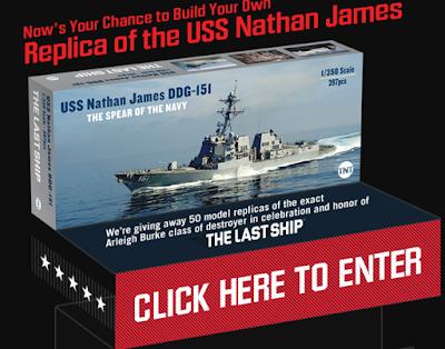 d19c8fff53dce USS Nathan James Model Ship Replica Giveaway - 50 Winners Win a ...