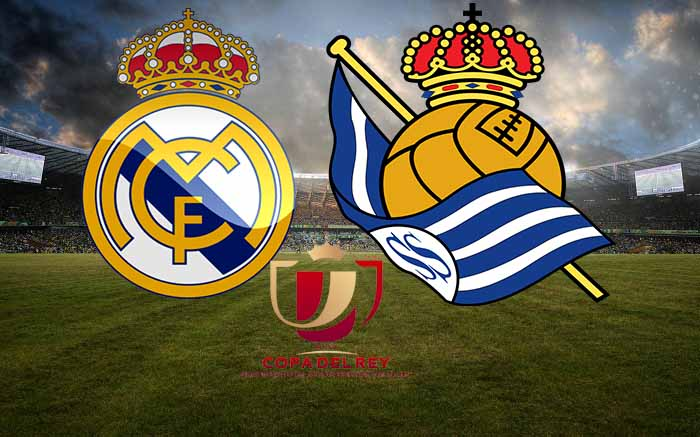 موعد مباراة ريال مدريد وريال سوسييداد اليوم فى كأس ملك اسبانيا