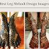 Top 20+ Leg Mehndi Design Images