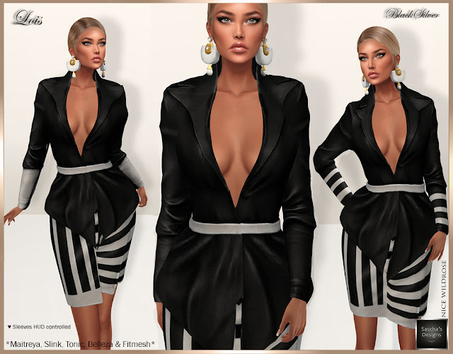 SASCHA'S DESIGNS - Lois HUD Outfit (Mesh Bodies & Fitted Mesh)