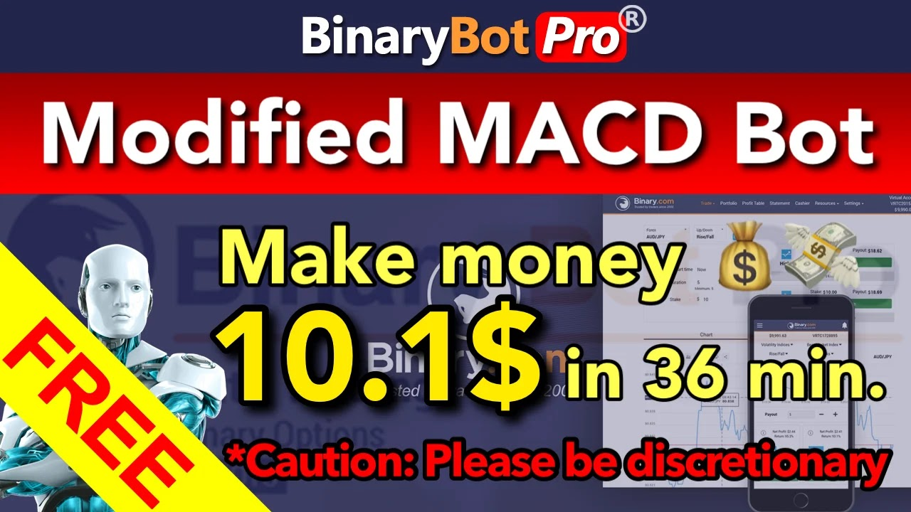 Binary Bot Pro is the channel for finding strategy to trade on Binary.com which is the premier platform for trading binary options in financial market