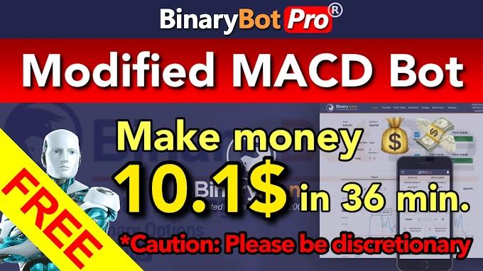 Modified MACD Bot (Final)   Binary Bot Pro