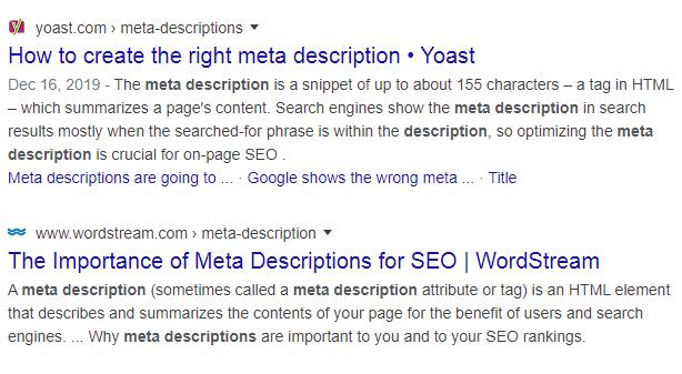 SEO Meta Description
