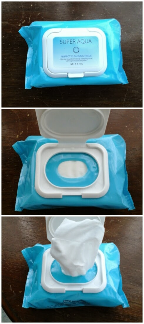 Super Aqua Perfect Cleansing Tissue Missha