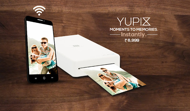 YU launches YUPIX, a portable printer for Rs. 6999