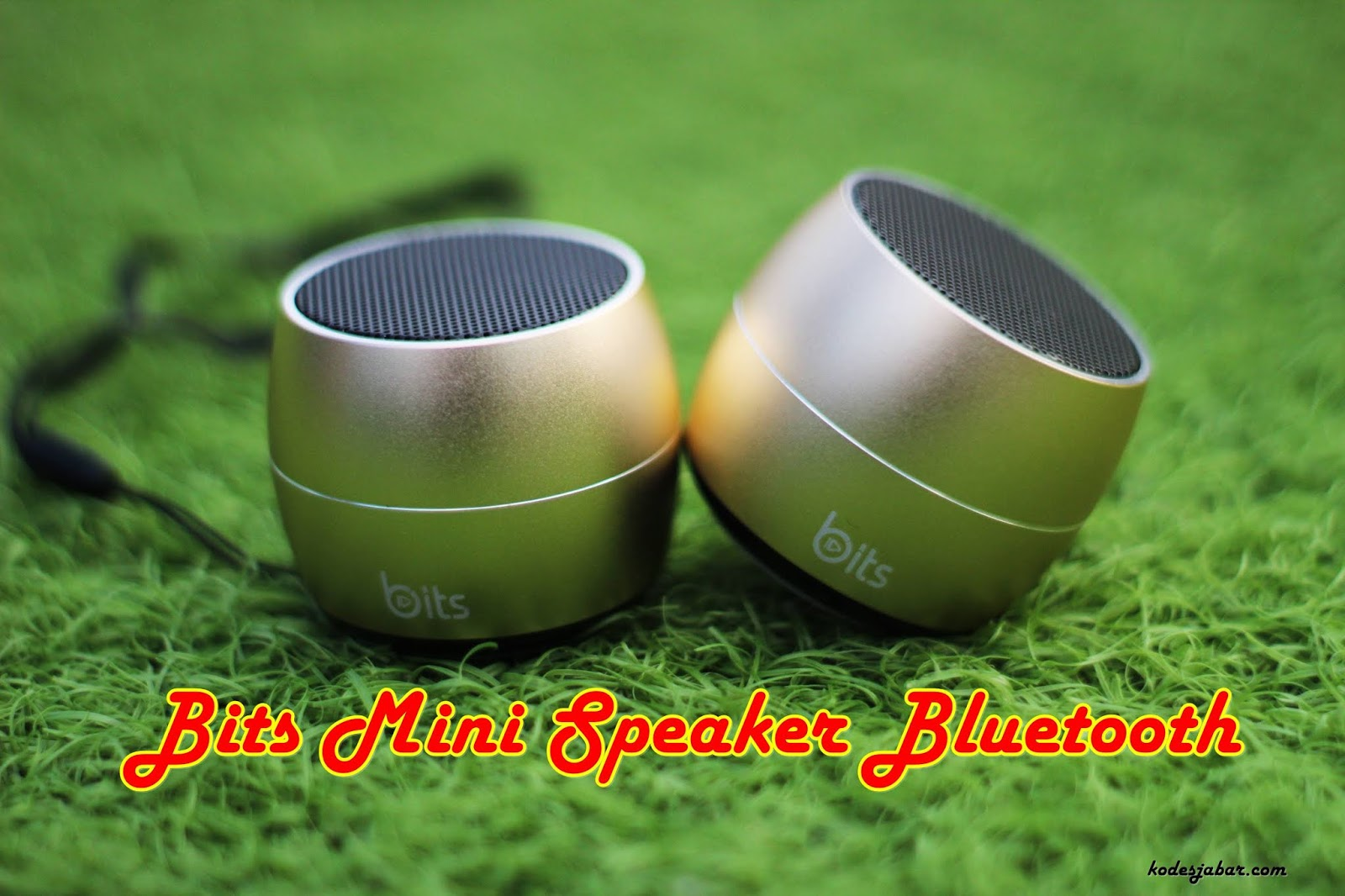 Bits, Mini Speaker Bluetooth Bersuara Dahsyat