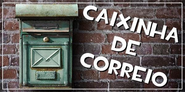 recebidos unboxing caixinha de correio