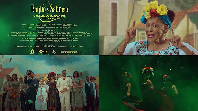 Omara Portuondo y La Orquesta Failde - ¨Bonito y Sabroso¨ - Videoclip - Director: Joseph Ros. Portal Del Vídeo Clip Cubano
