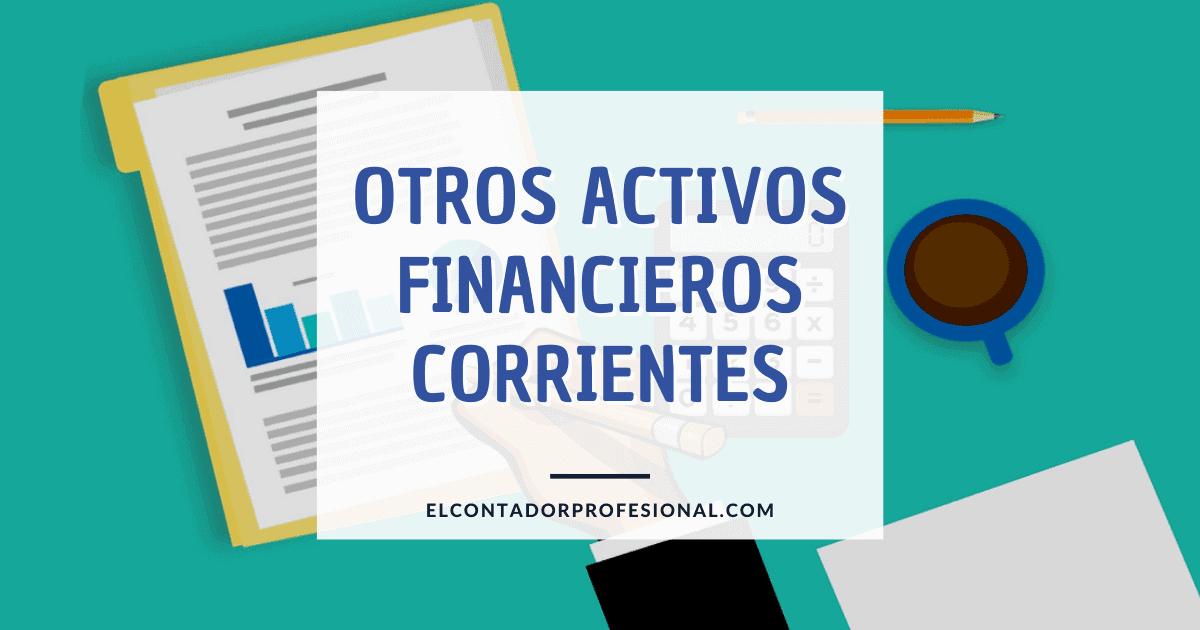 otros activos financieros corrientes
