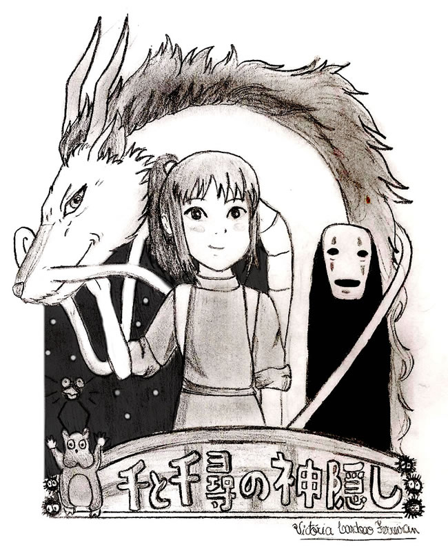 fanart Spirited away