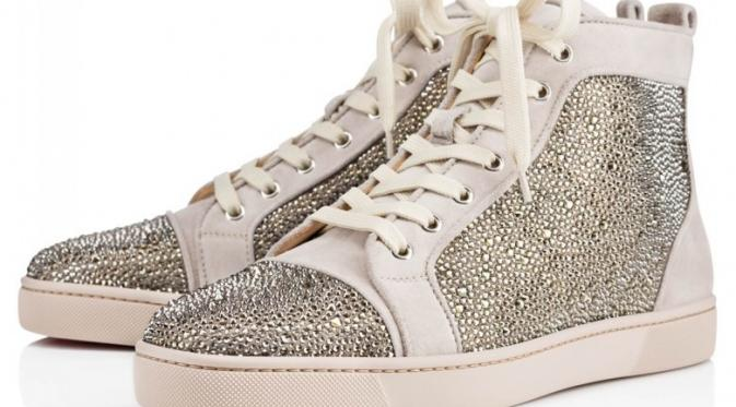 Christian Louboutin Crystal High Tops