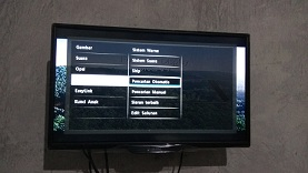 cara memprogram televisi