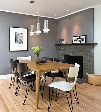 Dise os de comedores peque os y modernos colores en casa Comedores altos modernos