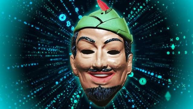 Gli hacker Darkside donano denaro rubato online