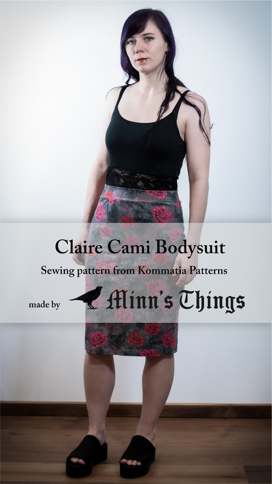 Minn's things sewing claire cami bodysuit kommatia patterns pinterest