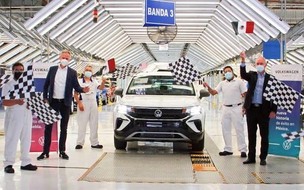 Volkswagen Taos para os EUA tem produção iniciada no México