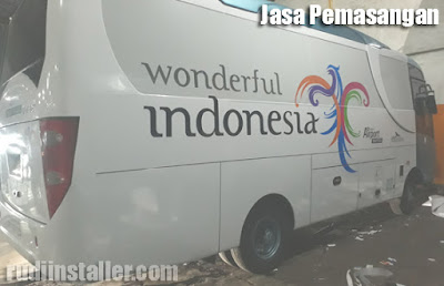 Jasa Branding Bus Visit Indonesia