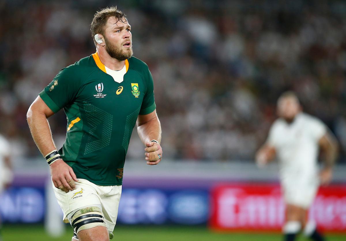 Duane Vermeulen of the Springboks