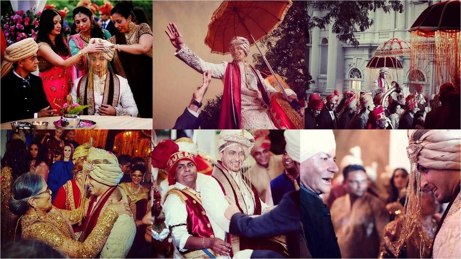 Groom Aayush Sharma with baraat got welcomed at wedding venue