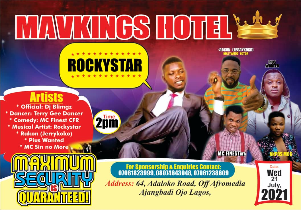 [Event] Mavkings Hotel presents 'A day with Classic'  - read event details #Arewapublisize