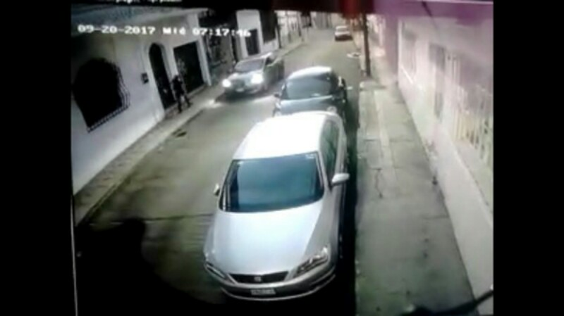 VÍDEO: JOVEN ESCAPA DE LEVANTON EN GUANAJUATO