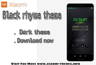 Redmi mobile theme