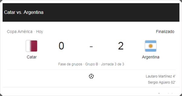 Argentina vs Qatar