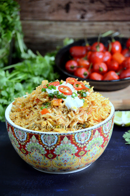 Vegetable Mexican Rice